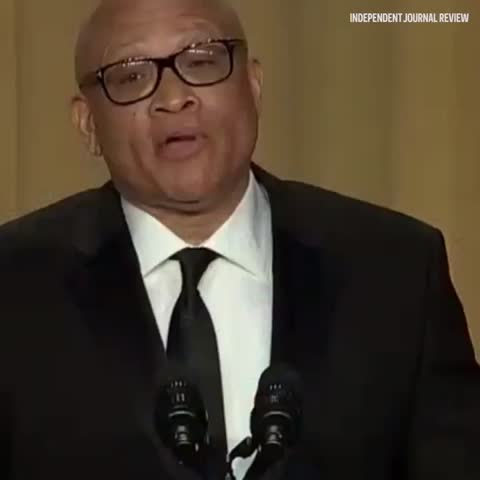 Vine by Independent Journal Review - Don Lemon gives Larry Wilmore the bird.