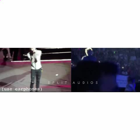 Vine by Split Audios - Little White Lies  Left Ear; Zayn ( studio )  Right Ear; Niall ( live )   ((1/2)) (( requested ))