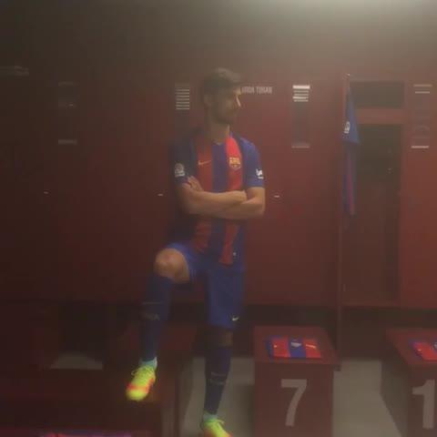 Vine by FC Barcelona - #andrégomesFCB