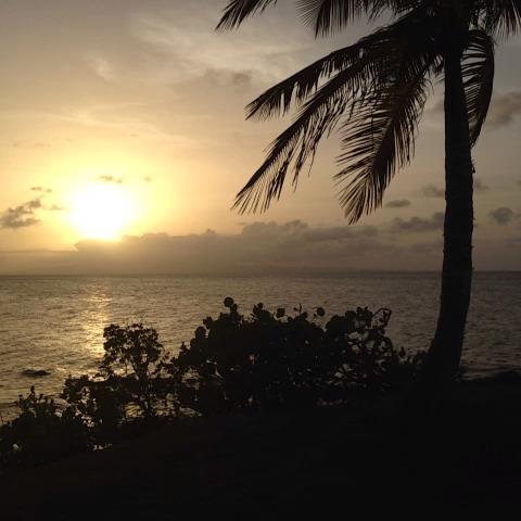 Atardecer en la Isla Nena #sunset #caribbean #puertorico ???????? - Puerto Ricos post on Vine