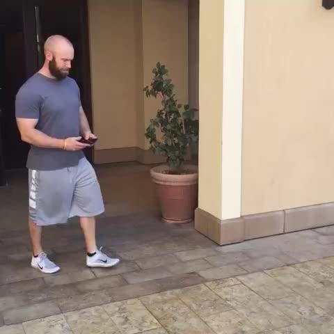Awkward moments. Phone drop between feet. - Justin Biebers post on Vine