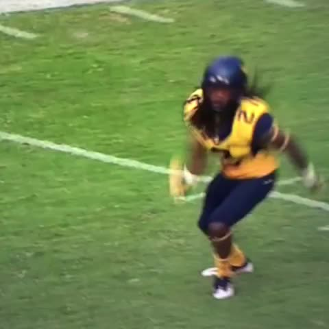 Vine by Juco Football Frenzy - Gotta come harder than that! Hes a #JUCOPRODUCT