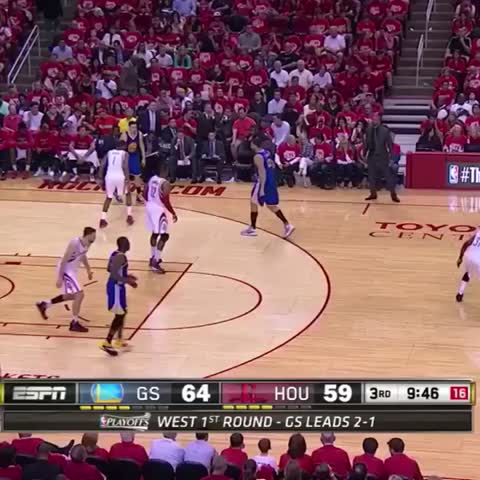Vine by Bleacher Report - This Draymond Green play from the first round looks familiar…