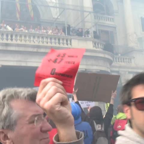 Vine by Barretfilms@gmail.com - La resposta de Rita Barberá a les reivindicacions de @intifalla a favor de l@avm3j