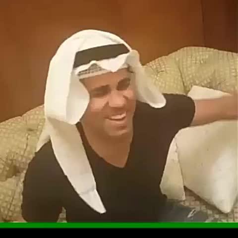 Vine by صحيفة فوتبول @Sport_fot - كوستا بالكويتي يقول للجميع( الله بالخير ) ..