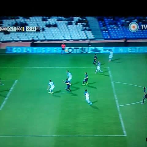Boca Juniorss post on Vine - ¡GOOOL DE BOCA! #Gago - Boca Juniorss post on Vine