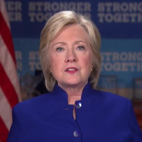 Vine by Charlie Spiering - Clinton: Why am I not 50 points ahead of Trump!?