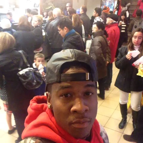 TravQues post on Vine - Vine by TravQue - My tribal call in McDonalds #Bricketi  #YoSon 😫🔊