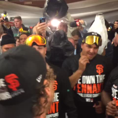 """""""Saddle it the Hell up, Were Burning it Down"""". Here we Come KC #SFGiants #OctoberTogether - San Francisco Giantss post on Vine"""