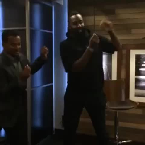 During a #ThisIsSC shoot, James Harden learned how to do the Carlton Dance...from Carlton. Its pretty hysterical. - ESPNs post on Vine