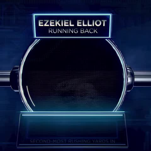 Vine by Bleacher Report - Cowboys select RB Ezekiel Elliot with the No. 4 pick in the #NFLDraft