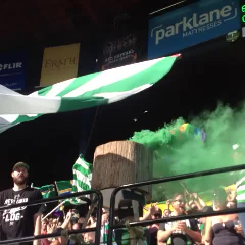 Portland Timberss post on Vine - Goals goals goals! Timbers up 3-0! #rctid #PORvVAN - Portland Timberss post on Vine