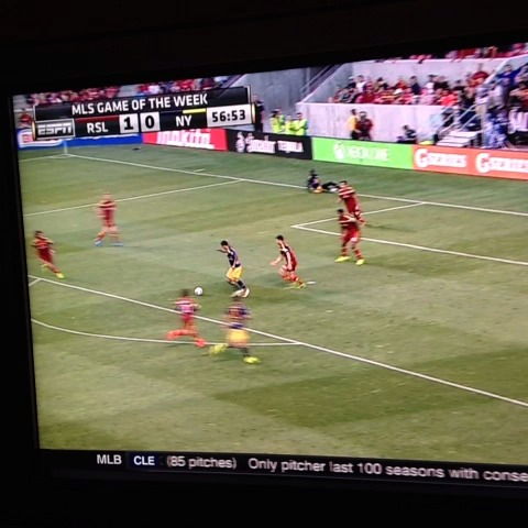 FootyFilmss post on Vine - Classy finesse goal from Henry! #RBNY - FootyFilmss post on Vine