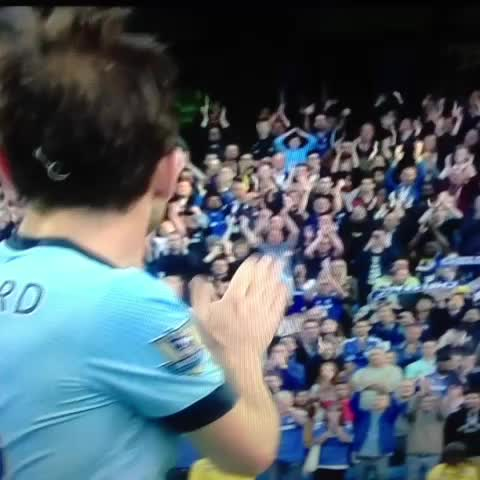 #Lampard greets Chelsea fans after scoring against his former team - Daniele Maris post on Vine