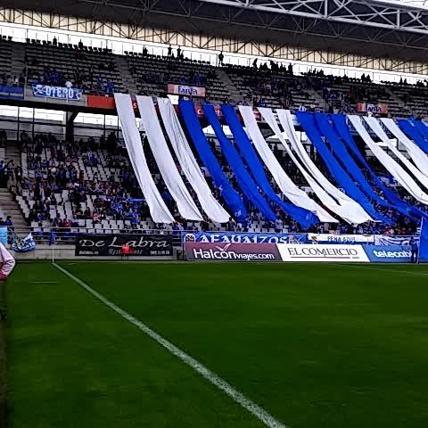 Vine by Real Oviedo - A punto de comenzar el partido en el Carlos Tartiere #8finales #RealOviedo89 #VamosOviedo