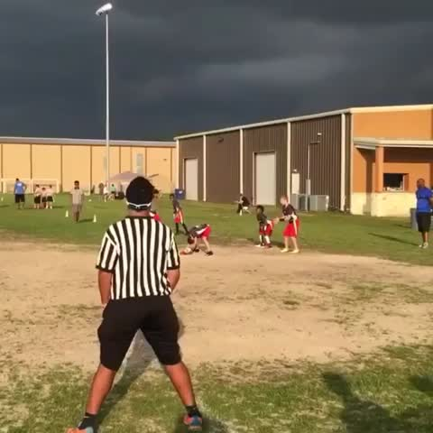 Vine by House of Highlights (Official) - 10 year old w/ a cannon 💥 (via Chad Jackson/ Instagram)