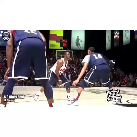 NBA DUNKS™s post on Vine - Vine by Insane Sports™ - Chris Paul making Anthony Davis look silly!! #nbaslams