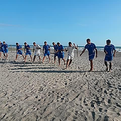 Violeta Martínezs post on Vine - Selección de Playa realiza la práctica en la Costa del Sol.  @elgraficionado @LPGdeportes - Violeta Martínezs post on Vine