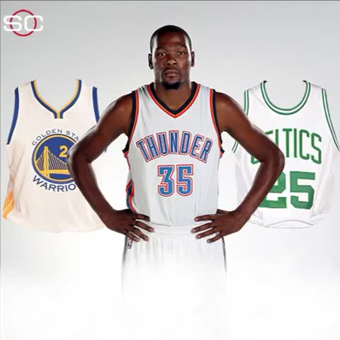 Vine by SportsCenter - Where will KD land?