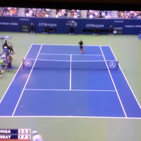 Scott McBrides post on Vine - Andy Murray. Dream shot! - Scott McBrides post on Vine
