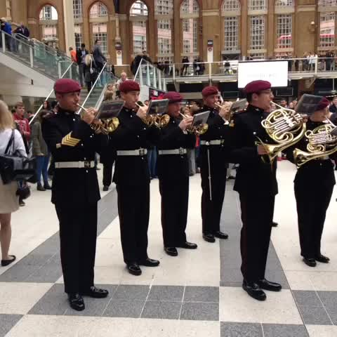 Come down to Liverpool Street to hear the Military Band play for #LDNpoppyday! Get your poppies and help our Service personnel Live On! - Royal British Legions post on Vine