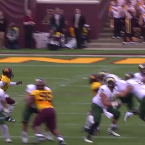 Vine by SportsCenter - Taiyon Devers levels QB