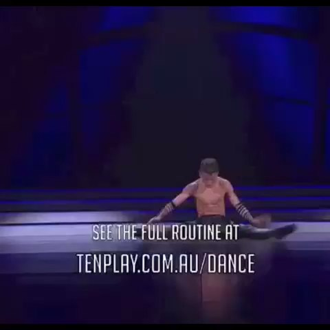 Michael from #SYTYCDAU dances to Unstoppable! by E.S. Posthumus → ♫ http://bit.ly/SYTYCDAU_Unstoppable - SYTYCD Australias post on Vine