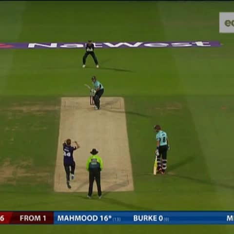 Vine by NatWest T20 Blast - Six off the last ball to win? Hes only gone and done it! Take a bow Azhar Mahmood! What a finish at Surrey Cricket