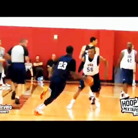 Ballislifes post on Vine - Kyrie Irving crosses Westbrook, Durant, Harden, and Kobe - Ballislifes post on Vine
