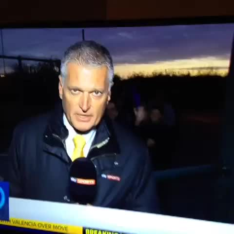 FOLLOW @FOOTYHUMOUR ON TWITTERs post on Vine - Sky Sports Presenter gets attacked by a purple dildo! - FOLLOW @FOOTYHUMOUR ON TWITTERs post on Vine