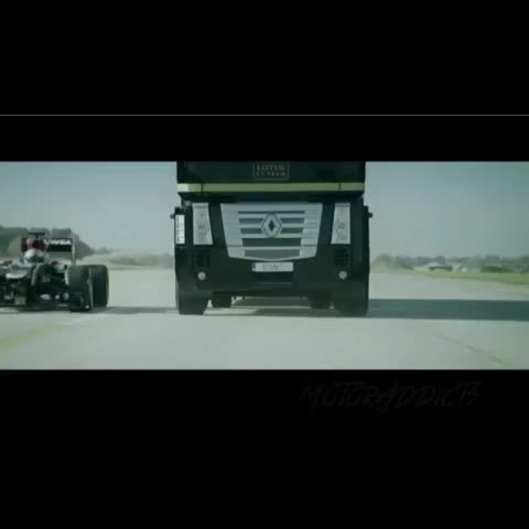 MotorAddicts™s post on Vine - Now you have seen everything 😂 #truck #f1 #jump #awesome #crazy - MotorAddicts™s post on Vine