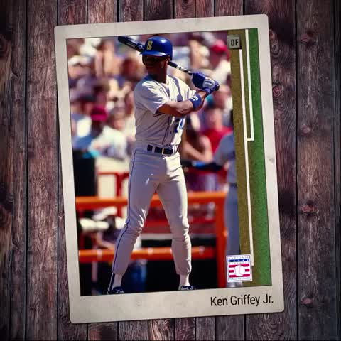Vine by Seattle Seahawks - The Kid. The 🐐. Congratulations Ken Griffey Jr.! #JrHOF