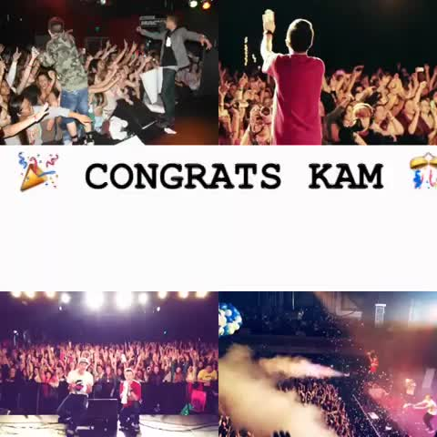 tbhmiahs post on Vine - CONGRATS KAM! WE ARE BEYOND PROUD OF YOU. WE LOVE YOU SO MUCH. ♡ KALIN AND MYLES  Kalin white  Myles Parrish #KalinAndMyles #KAMFAM - tbhmiahs post on Vine