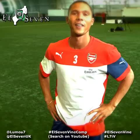 Lumos7s post on Vine - 5-1, 6-3, 6-0 its a new season so #ForgetAboutIt #ElSeven #ElSevenVine #Arsenal #AFC #Gunners #GoonerFam - Lumos7s post on Vine