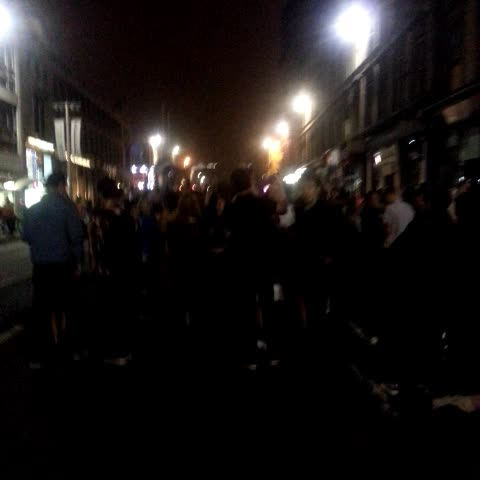 Peter Adam Smiths post on Vine - These are the scenes in Glasgow now. - Peter Adam Smiths post on Vine