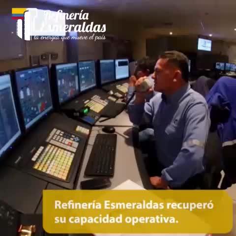 Vine by EP PETROECUADOR - Con el proyecto de rehabilitación la Refinería Esmeraldas recuperó su capacidad operativa. #RefEsmeraldas