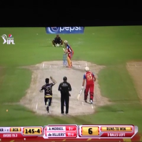 Freddie Wildes post on Vine - What. A. Catch. #IPL - Freddie Wildes post on Vine
