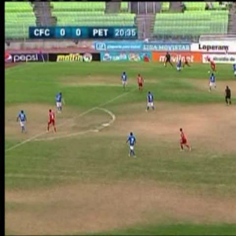 Vine by David De Pasquale - Otro gol más para Edder Farías, su 12mo de la temporada. Y Caracas FC llega a 60 puntos en la acumulada.