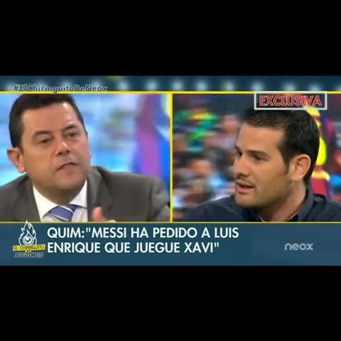 El Chiringuito de Jugoness post on Vine - Guti LE DEJA CLARO a Quim Doménech en qué POSICIÓN se encuentra Messi. ¿Es el mejor del mundo? ¡OJO con su respuesta! #ElChiringuitodeNeox - El Chiringuito de Jugoness post on Vine