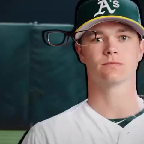 Oakland Athleticss post on Vine - Vine by Oakland Athletics - Lets play! Pin glasses on Sogard & tweet screengrab with #PinTheSpecsOnSogard. 1 fan wins #NERDPOWER tee