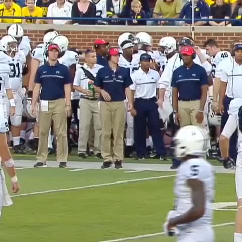 Vine by ESPN CollegeFootball - Penn State may have lost this game but they made an awesome music video.