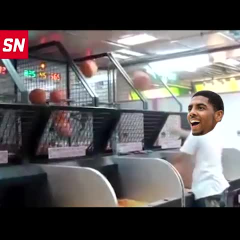 Vine by SportsNation - ICYMI: Here is exclusive footage of Kyrie Irvings 55 point performance last night.