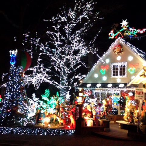 Most decorated christmas house long island