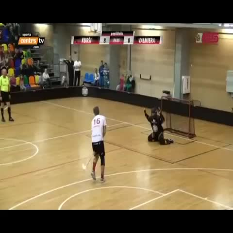floorball.lvs post on Vine - Game winning penalty shot in extra time by Aigars Belasovs (FBK Valmiera/ViA) #floorball - floorball.lvs post on Vine