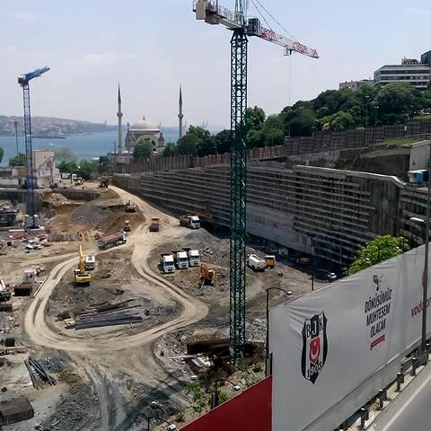 HaydiKalkAyağa – Beşiktaş Vodafone Arena tüm tribünler genel görünüm