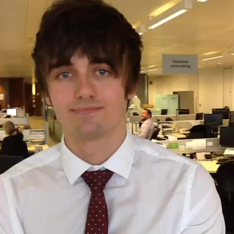 And why is Chris enjoying his YII #placement in #Finance? #insideSupportOffice #nottingham #Year2Remember - Boots Jobss post on Vine