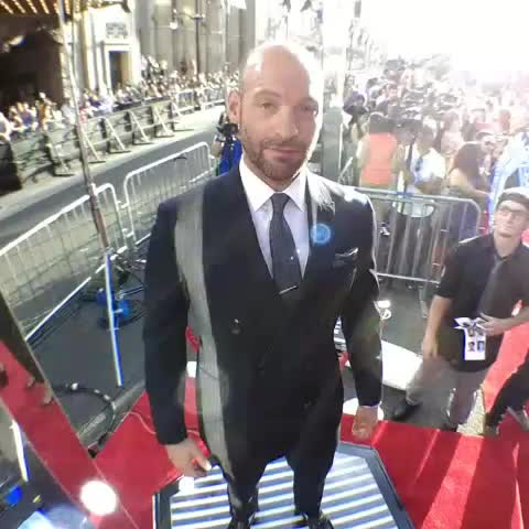 Vine by Ant-Man - Live from Marvels #AntMan premiere with #CoreyStoll!