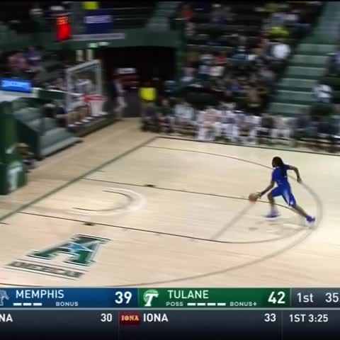 Vine by The Cauldron - Memphis Shaq Goodwin Elbow Slam vs Tulane