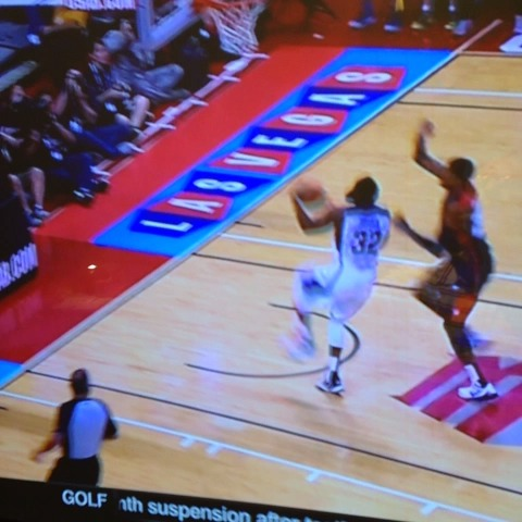 Kenny Rodas post on Vine - The worst case scenerio just happened in the Team #USABasketball scrimmage as Paul George was seriously hurt. Prayers with him. - Kenny Rodas post on Vine
