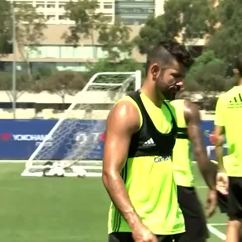 Vine by Chelsea FC - Diego Costa 👀😂